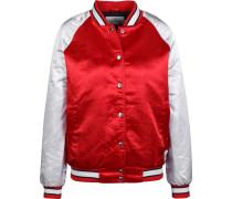 Jacke rot / weiß