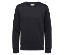 Sweatshirt Basic -Crew Neck schwarz