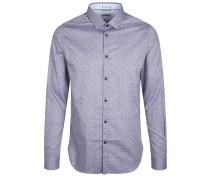 Freizeithemd DOT Oxford blau