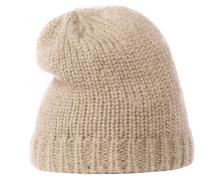 Mütze hellbeige