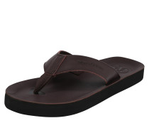 Slipper 'Beach Sandal' dunkelbraun