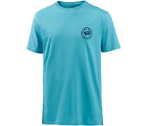 'flag' T-Shirt aqua