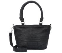 Cilia Handtasche 22 cm schwarz