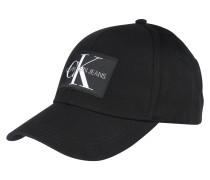 Kappe 'monogram' schwarz