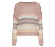 Pullover 'new Carle' grau / rosé