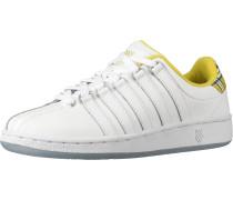 Sneakers Low gelb / weiß