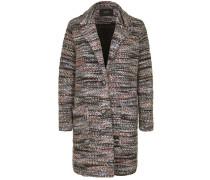 Mantel mit Melange-Muster
