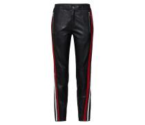 Lederhose rot / schwarz