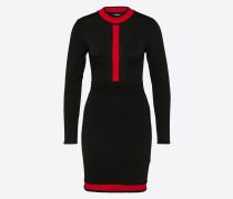 Kleid 'Loretta' rot / schwarz
