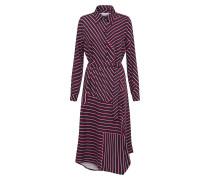 'Jacobine' Kleid rot / schwarz / weiß