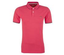 Poloshirt pink / schwarz