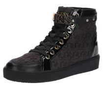 Sneaker 'gracely' kastanienbraun / schwarz