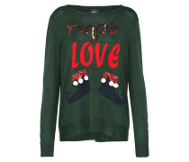 Pullover 'xmas-Love' grün
