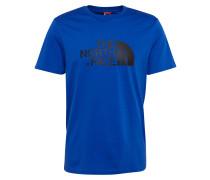 Shirt 'Easy' blau / schwarz