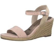 Sandalette beige / rosa