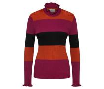 Pullover 'Jarrah' orange / dunkelpink