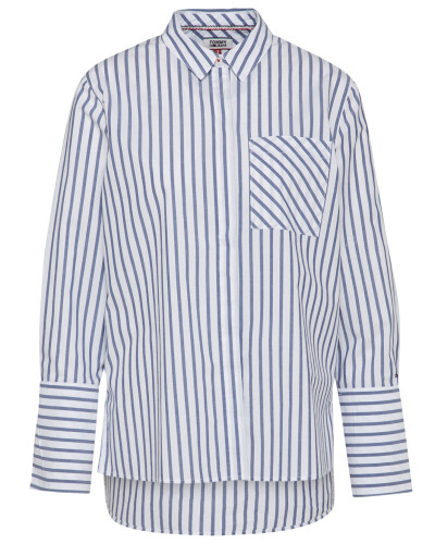 Bluse 'boyfriend Stripe Mix'