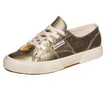 "Sneaker ""2750 Metcrocw"" gold / weiß"