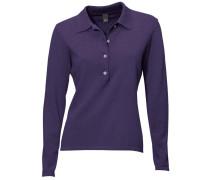 Polo-Pullover lila