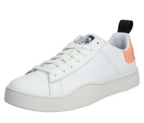 Sneaker 's-Clever LOW Lace' pfirsich / weiß