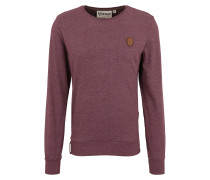 Sweatshirt 'Al K.Ohol' bordeaux