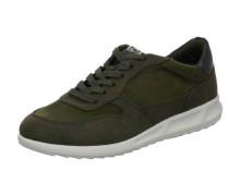 Sneakers dunkelbraun / dunkelgrün
