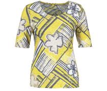 T-Shirt gelb / mischfarben