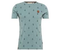 Shirt 'Fuck' dunkelblau
