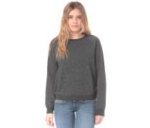 'Essential Crew' Sweatshirt dunkelgrau