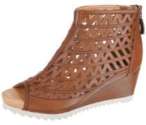 Sandaletten 'Florentine' braun / weiß