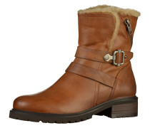 Leder-Boots 'Liam' beige / bronze
