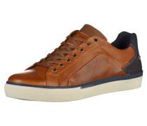 Sneaker beige / navy / kupfer