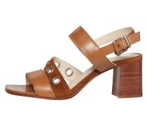 Sandale cognac