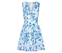 Kleid 'Nordi' blau / weiß