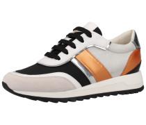 Sneaker creme / bronze / offwhite