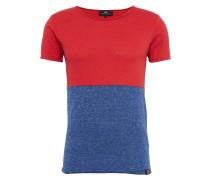 T-Shirt 'jipawa T/s' navy / rot