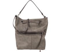 Handtasche grau / taupe