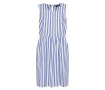 Kleid 'candice' blau / weiß