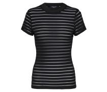 T-Shirt 'gral' schwarz