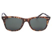 Sonnenbrille braun / silber