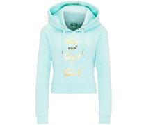 Hoodie gold / mint