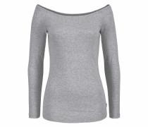 Carmenshirt 'Off-Shoulder' hellgrau