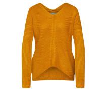 Pullover 'madia' dunkelorange