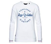 Sweater Les Voiles Oversized Damen weiß