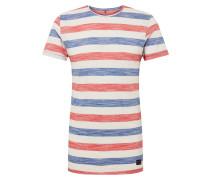 Shirt 'Tee' blau / grau