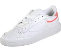 Sneaker 'Club C 85 Trim' grau / hellorange