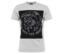T-Shirt 'T-Edward' mit Marken-Applikation vorne