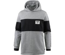 Sweatshirt 'Rebel Block' schwarz / grau