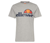 T-Shirt 'prado' dunkelblau / graumeliert