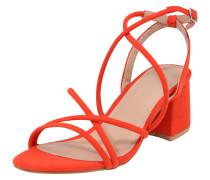 Sandalen rot / orangerot